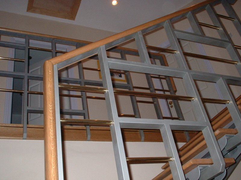 Feature Staircase - Private Residence