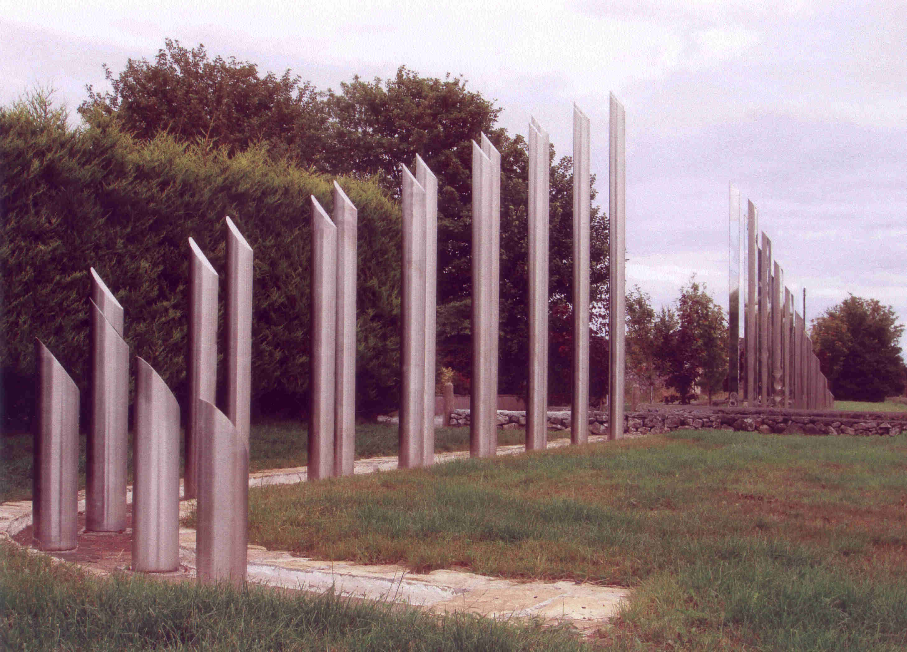 Stainless Steel Sculpture - Galway By Pass=